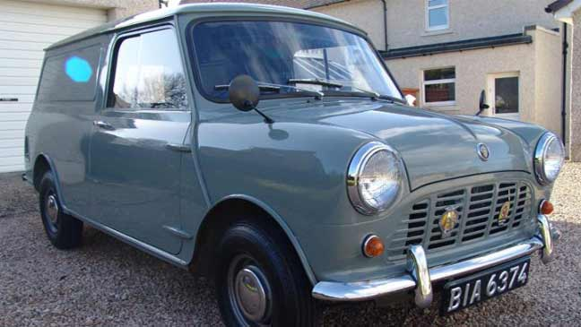 Classic Mini Van Hidden For 47 Years Because Owner Couldnt Pass