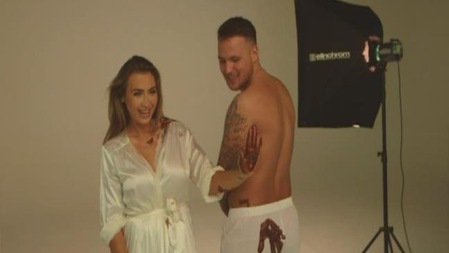 goodger body paint Lauren