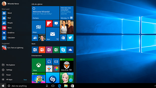 how to add to startup menu windows 10