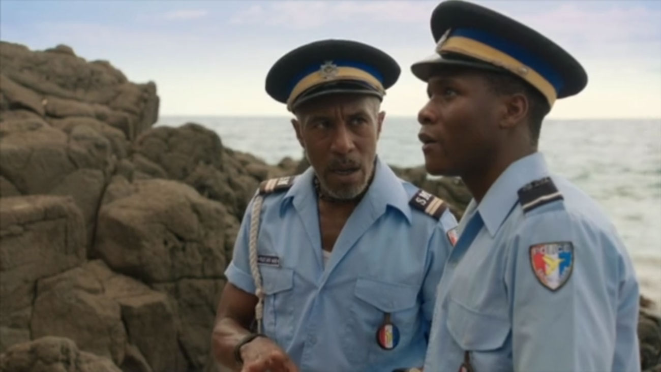 Go behind the scenes of Death in Paradise with Danny John ...