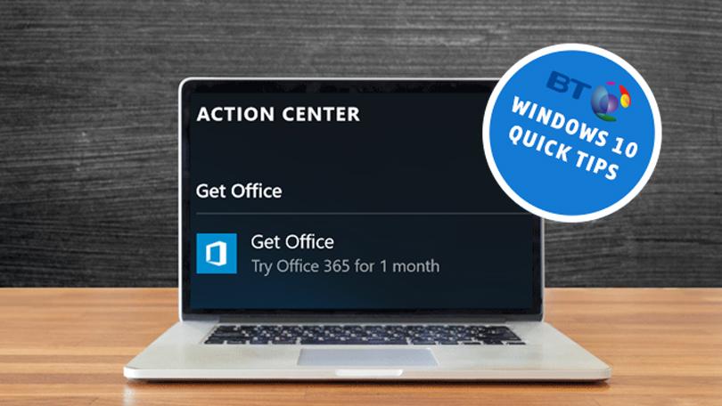 Windows 10 Quick Tips: Stop Windows 10 Tip Pop-ups