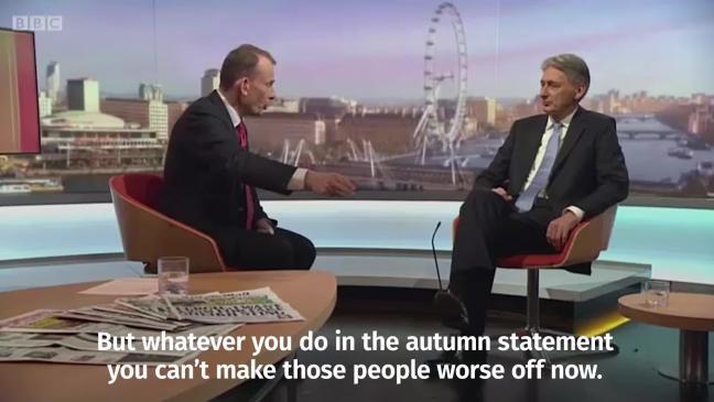 Hammond autumn statement