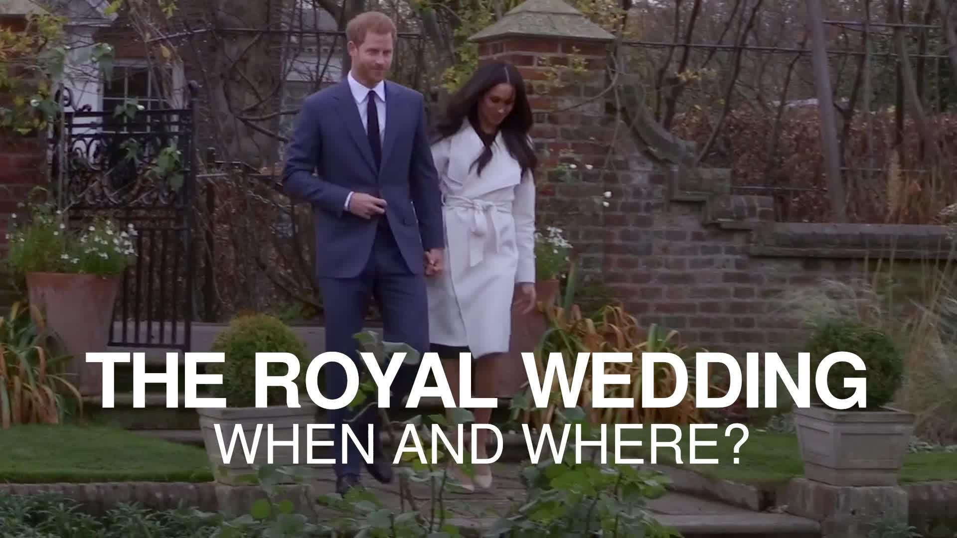 When and where will the royal wedding be held?
