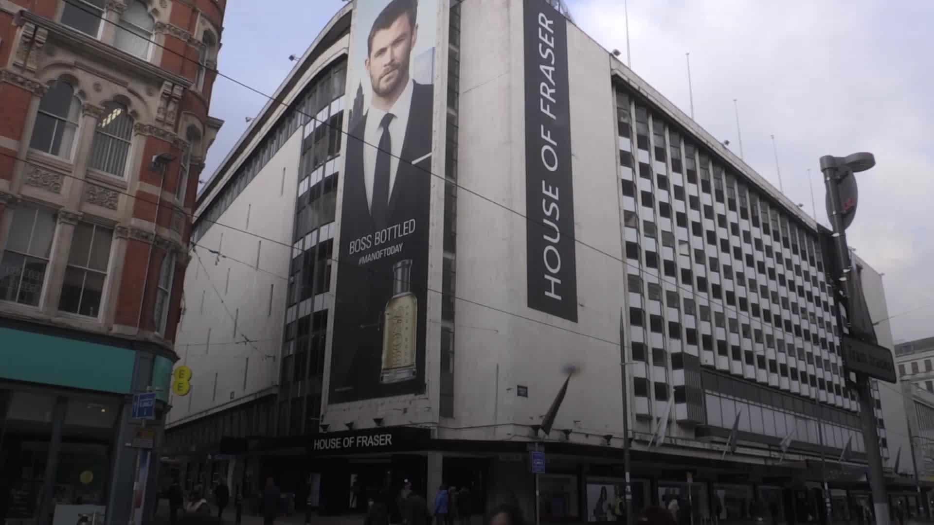 6d90af0599b7 House of Fraser  Oxford Street store among 31 planned closures