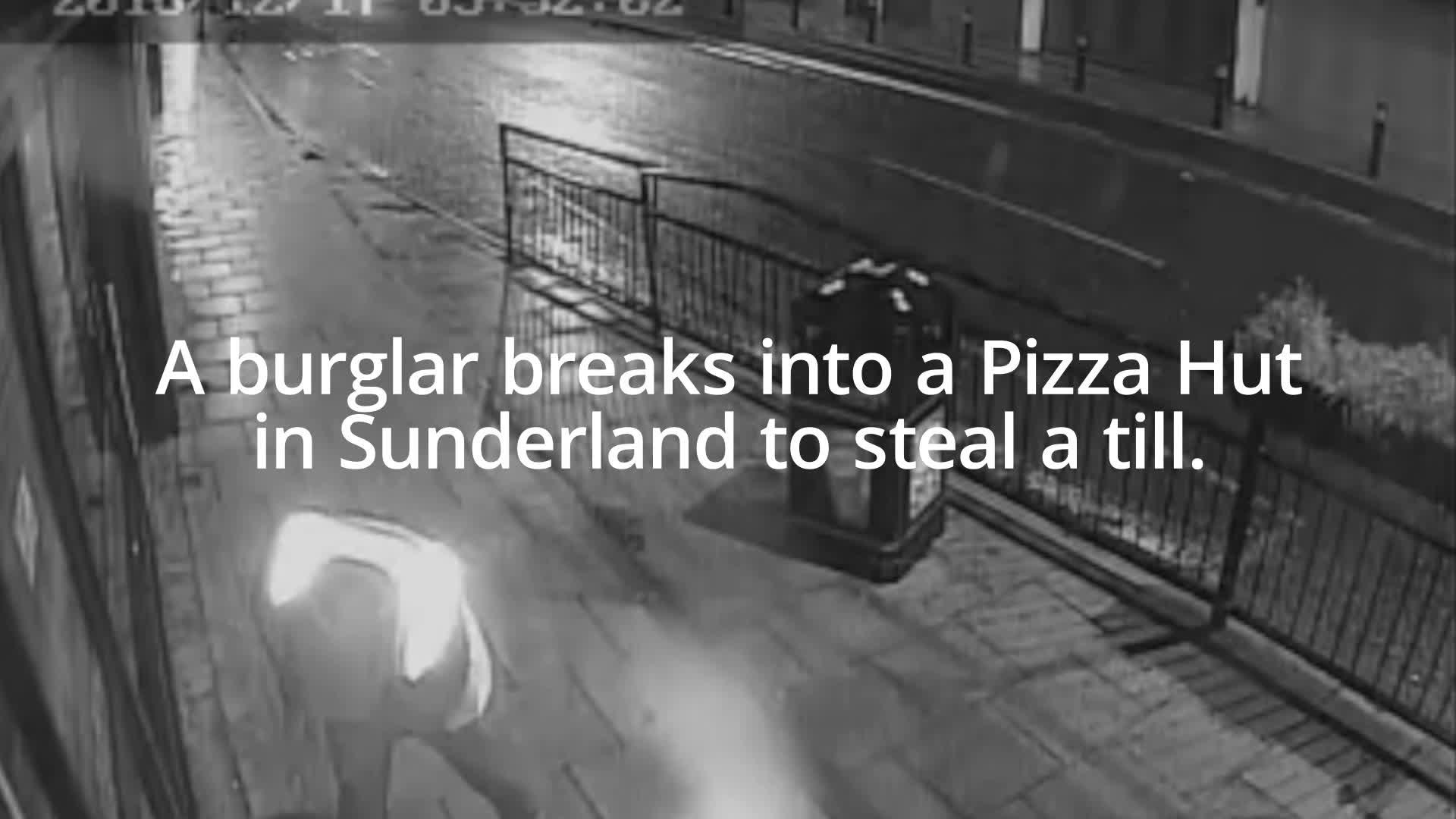 Pizza Hut Burglar Tries To Wash Away Crime Scene Blood With Pepsi