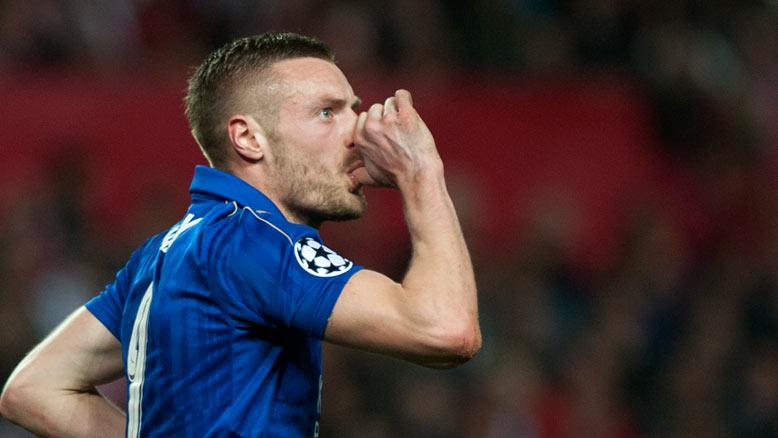 Vardy dedicates crucial away goal to newborn son