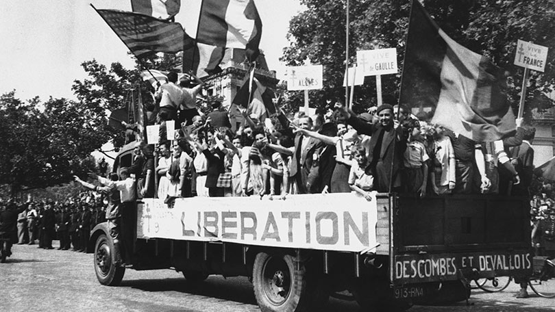 Image result for french liberation of paris