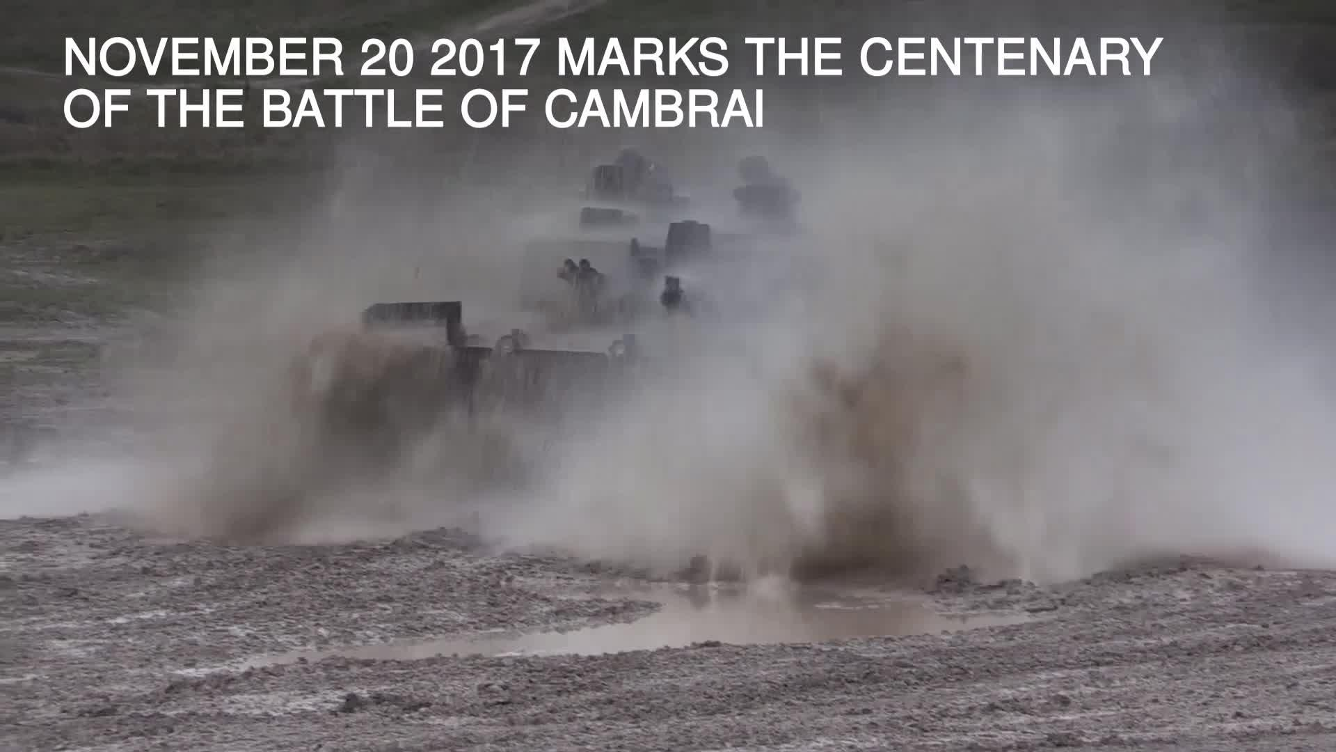 Tanks Here To Stay Say Army On Battle Of Cambrais 100 Year Story Cambrai 1917 Anniversary Bt