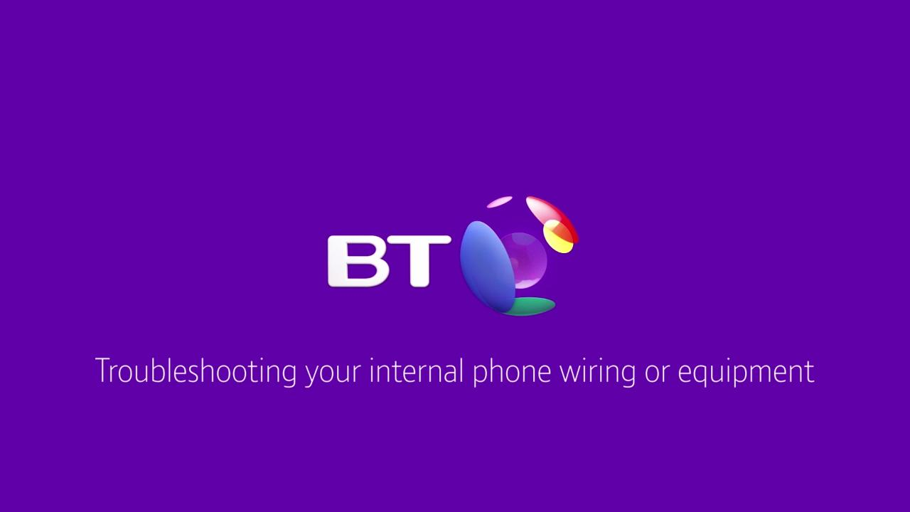 I Have A Problem With My Phone Line What Can Do Bt Business Wiring Telephone Master Socket